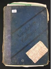 Sale 8539M - Lot 102 - The Original Magician Dreams, by J. Albert Briggs - his handwritten scrapbook with miscellaneous contributions and ephemera by K...