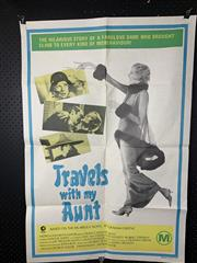 Sale 9003P - Lot 11 - Vintage Movie Poster - Travels with my Aunt (H: 100cm x W: 68cm)