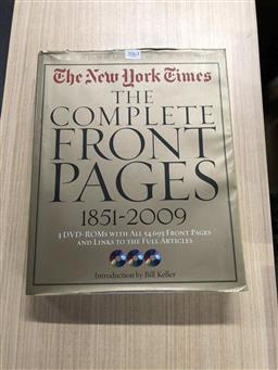 Sale 9180 - Lot 2063 - The New York Times: The Complete Front Pages with 3 CD-ROMs