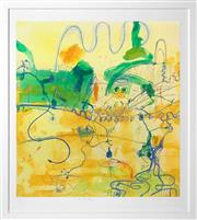 Sale 8443 - Lot 547 - John Olsen (1928 - ) - The Frog Dance 85 x 80cm (frame size: 104 x 95cm)