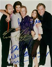 Sale 8870 - Lot 2097 - Laura San Giacomo, George Segal, Wendie Malick. Enrico Colantoni & David Spade (Just Shoot Me Cast)