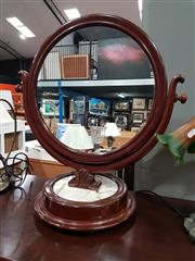 Sale 8843 - Lot 1052 - Mahogany and Marble Dressing Mirror