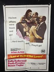 Sale 9003P - Lot 12 - Vintage Movie Poster - Last of the Red Hot Lovers (H: 100cm x W: 68cm)
