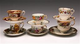 Sale 9119 - Lot 62 - A collection of 5 ceramic duos together with An Royal Albert Trio