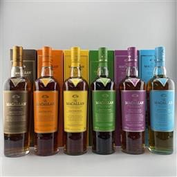 Sale 9217A - Lot 846 - The Macallan Distillers Edition Series No.1 - No.6 Highland Single Malt Scotch Whisky - limited release, 48 - 48.6% ABV consecutiv...
