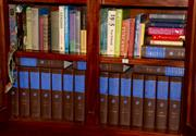 Sale 8107B - Lot 59 - Two Shelf lots of books including the New Grove Dictionary of Music and Musicians edited by Stanley Sadie. 1980 Vols I-XX