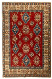 Sale 8372C - Lot 64 - An Afghan Kazak 100%Wool And Natural Dyes, 302 x 201cm