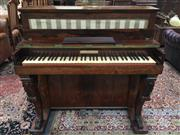Sale 8882 - Lot 1075 - William IV Rosewood  Piccolo Piano-Forte by Robert Wornum, with fabric lined upper register, the keyboard with manufacturers pape...