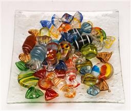 Sale 9128 - Lot 99 - A collection of art glass lollies