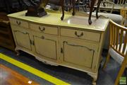 Sale 8499 - Lot 1369 - French Style Sideboard with Three Doors & Drawers