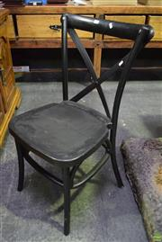 Sale 8566 - Lot 1741 - Set of 6 Timber Dining Chairs