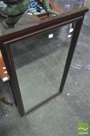 Sale 8251 - Lot 1070 - Timber Framed Mirror