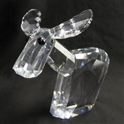 Sale 8412B - Lot 3 - Swarovski Crystal Donkey (Large Ricci) with Box (the lov lots) - Height 19.5cm