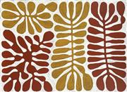 Sale 8781 - Lot 581 - Mitjilli Naparulla (c1945 - ) - Watiya Tjuta (Acacia Trees) 77 x 103cm (stretched and ready to hang)