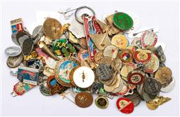 Sale 9144 - Lot 297 - Collection of pins, badges, patches and medals