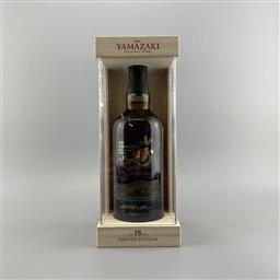 Sale 9217A - Lot 826 - The Yamazaki Distillery Limited Edition 18YO Single Malt Japanese Whisky - 43% ABV, 700ml in timber presentation box with booklet...