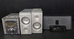 Sale 9254 - Lot 2356 - Electricals incl Sony ipod Dock, Electric Scales & Nordmende Mini Disc/ Radio/CD Player & Speakers