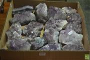 Sale 8323 - Lot 1098 - Box Amethyst Crystal