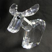 Sale 8412B - Lot 4 - Swarovski Crystal Donkey (Large Ricci) with Box (the lov lots) - Height 19.5cm