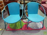 Sale 8465 - Lot 1068 - Two Outdoor Gardenline Chairs