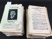 Sale 8539M - Lot 105 - J. Albert Briggs Magical Specialist Product Catalogues, various copies, some unbound & loose, approximately 40. Also includes unbo...