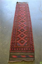 Sale 8566 - Lot 1317 - Persian Balouch Runner (285 x 65)