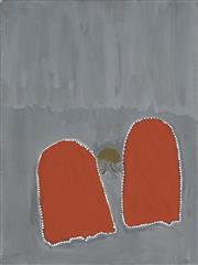 Sale 8718 - Lot 509 - Peter Newry (Bagigin) (1939 - 2012) - Jiyirl, 2007 natural pigments and acrylic binder on canvas