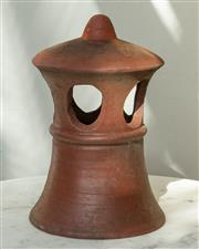Sale 8745A - Lot 49 - A terracotta chimney