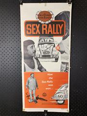 Sale 9003P - Lot 16 - Vintage Movie Poster - Sex Rally