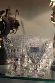 Sale 8261 - Lot 95 - Stuart Crystal Highball Glasses with Crystal incl. Edinburgh