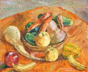 Sale 8645 - Lot 2043 - Valerie Lazarus (1901 - 1988) - Fruits and Vegetables, 45 x 55cm