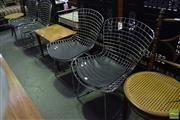 Sale 8532 - Lot 1175 - Set Of Four Wire Dining Chairs