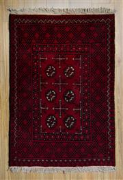 Sale 8566C - Lot 45 - Afghan Turkman 125cm x 75cm