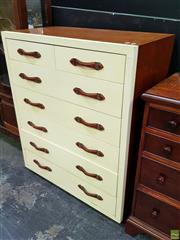 Sale 8629 - Lot 1007 - Ralph Lauren Timber Chest of Seven Drawers
