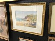 Sale 8856 - Lot 2005 - Kasey Sealy Summer: McMasters Beachwatercolour, 48.5 x 59cm, signed lower left