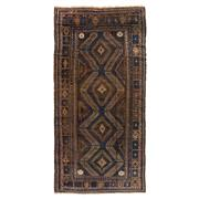 Sale 8890C - Lot 3 - Afghan Antique Beluch Carpet, 310x150cm, Handspun Wool
