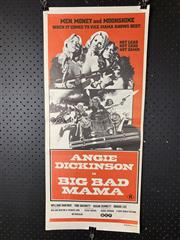 Sale 9003P - Lot 17 - Vintage Movie Poster - Big Mad Mama starring Angie Dickinson and William Shatner
