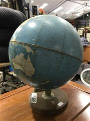 Sale 9051 - Lot 1057 - Globe on Stand