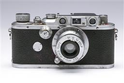 Sale 9093 - Lot 3 - Leica IIIb Camera, Fitted With Elmar Lens (f=5cm, 1:3.5)