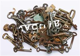 Sale 9144 - Lot 26 - Collection of various keys