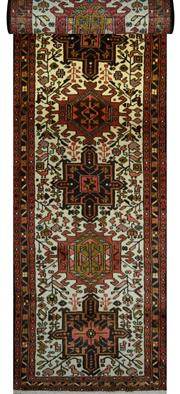 Sale 8307A - Lot 75 - Persian Hamadan 300cm x 80cm RRP $1000