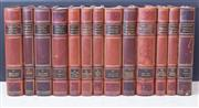 Sale 8568A - Lot 57 - 13 volumes by Viktor Rydberg, various titles, Albert Bonniers Publishers Stockholm, bound in leather and marbled boards, together wi...