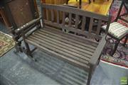Sale 8323 - Lot 1048 - Timber Bench