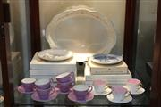 Sale 8340 - Lot 96 - Bing & Grøndahl Boxed Cabinet Plates with Other Ceramics incl Foley Tea Wares
