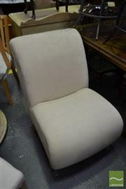 Sale 8499 - Lot 1382 - Modern Upholstered Lounge Chair