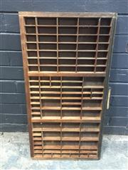 Sale 9017 - Lot 1012 - Sectional Printers Tray (82 x 45cm)