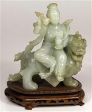 Sale 7968 - Lot 30 - Chinese Jade Carved Figure Group