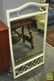 Sale 8312 - Lot 1079 - Cane Framed Mirror