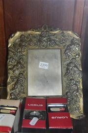 Sale 8381 - Lot 103 - Metal Cherubic Picture Frame