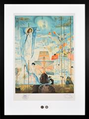 Sale 8434 - Lot 579 - Salvador Dali (1904 - 1989) - Discovery of America 86 x 59cm (frame size: 117 x 87cm)